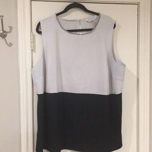 Peter Nygard sleeveless blouse - 20W